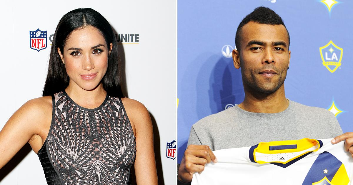 lizzie bundy tried to set up meghan markle with soccer star ashley cole but he wasnt so keen tro