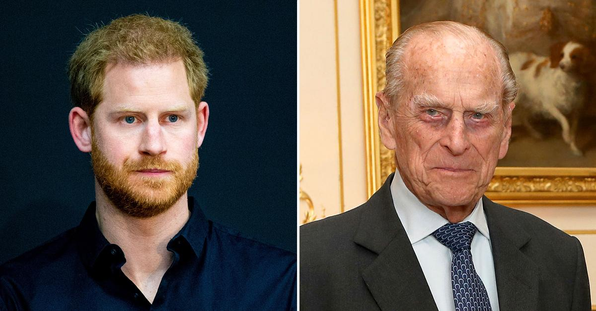 prince harry upset over prince philips death feels guilty