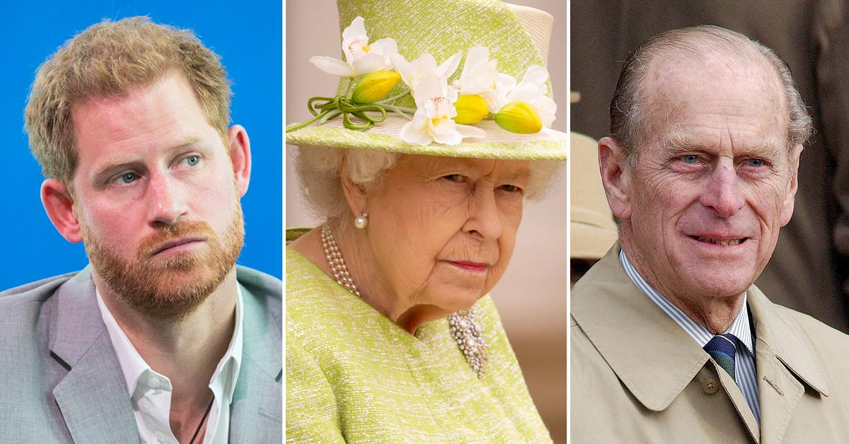 prince harry reunite royal family queen elizbaeth wants him attend prince philips funeral