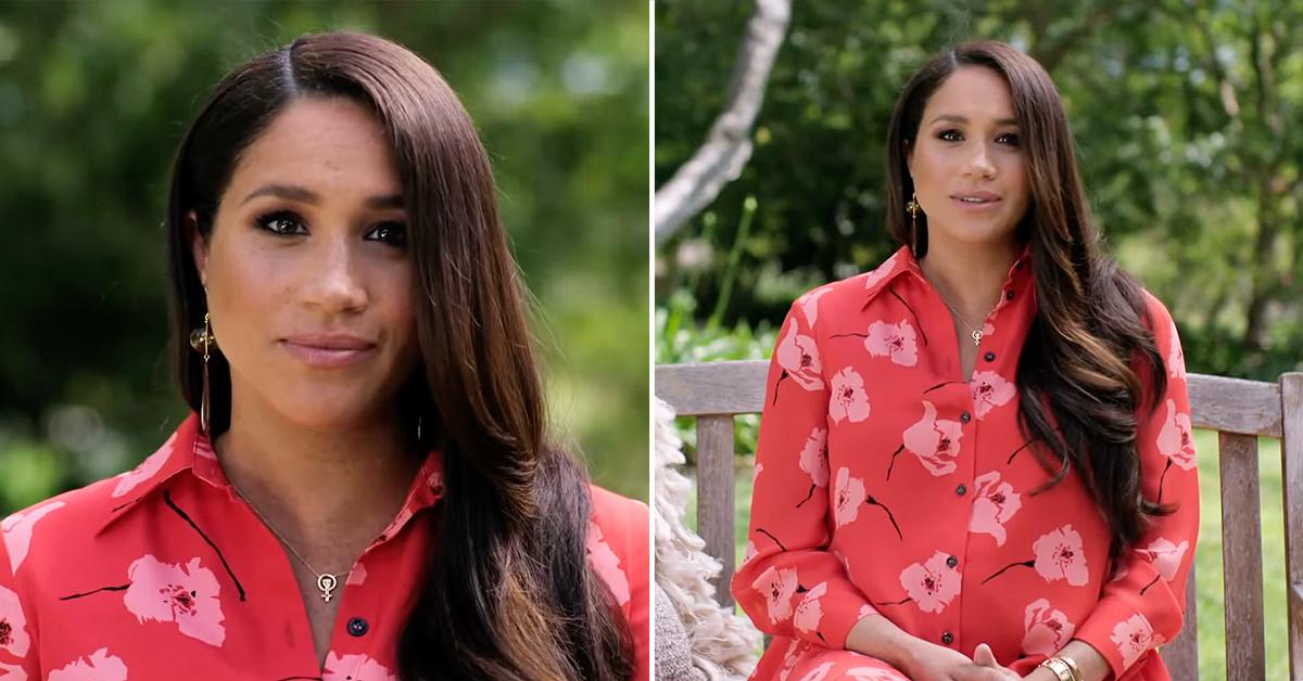 did meghan markle hint at her daughters name vax live appearance