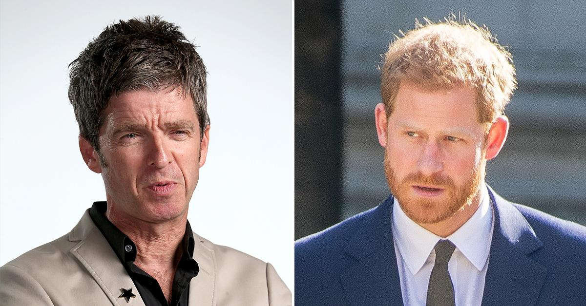 oasis rocker noel gallagher says prince harry stop dissing family