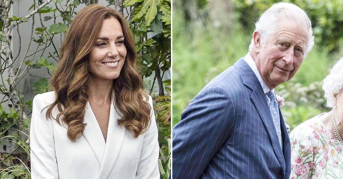 kate middleton calls prince charles grandpa watch tro