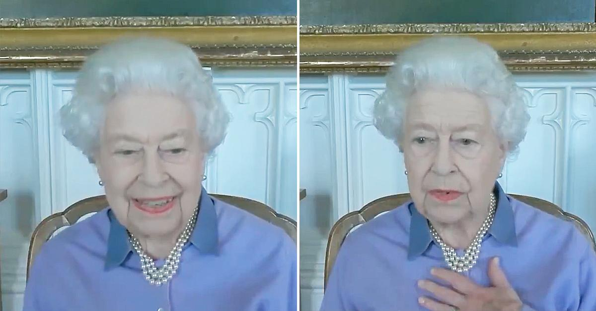 queen elizabeth pokes fun her age special award royal life saving society watch