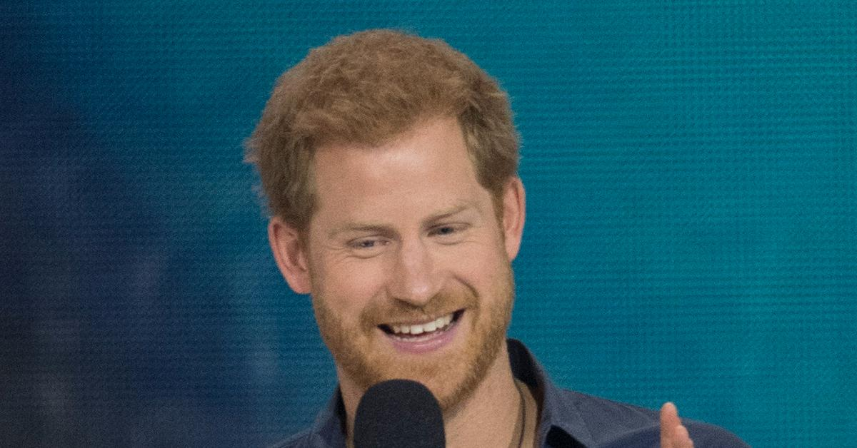 prince harry teases announcement