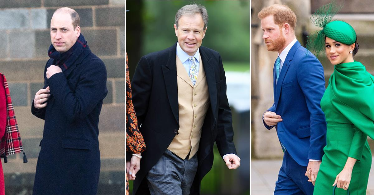 prince william reportedly cuts ties reporter pal tom bradby sides prince harry meghan markle trof