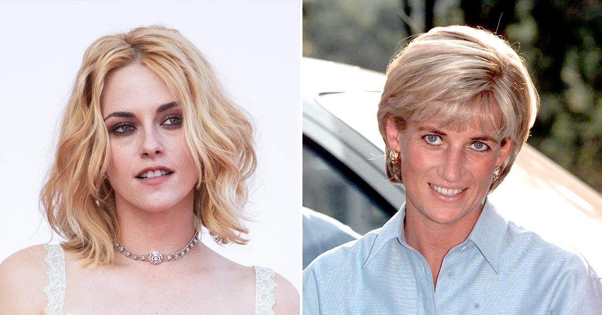 kristen stewart says there were moments got the sign off from princess diana while filming spencer