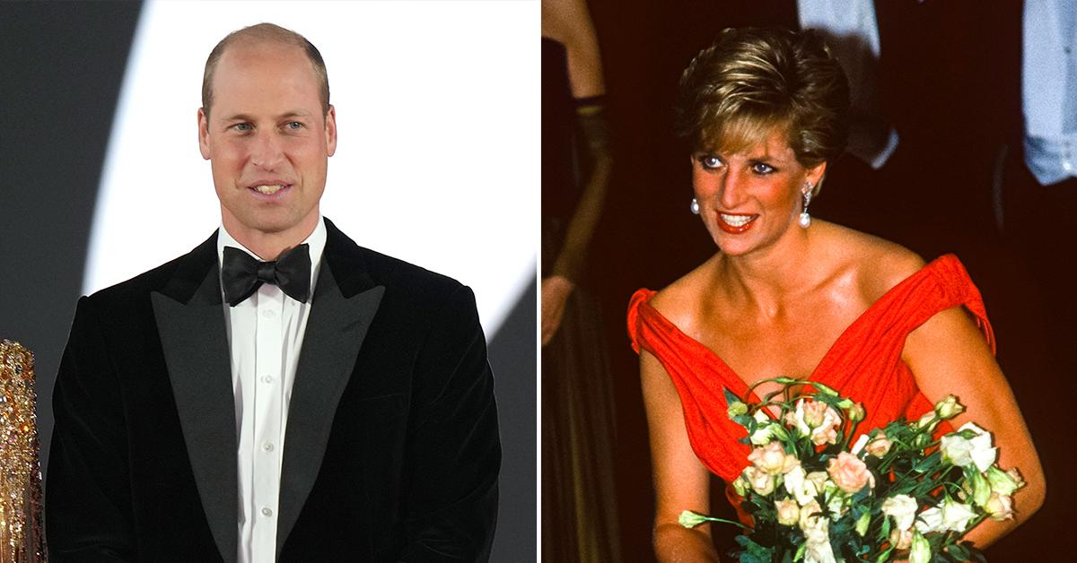 prince william honors late mother princess diana by hosting private reception kensington palace pp