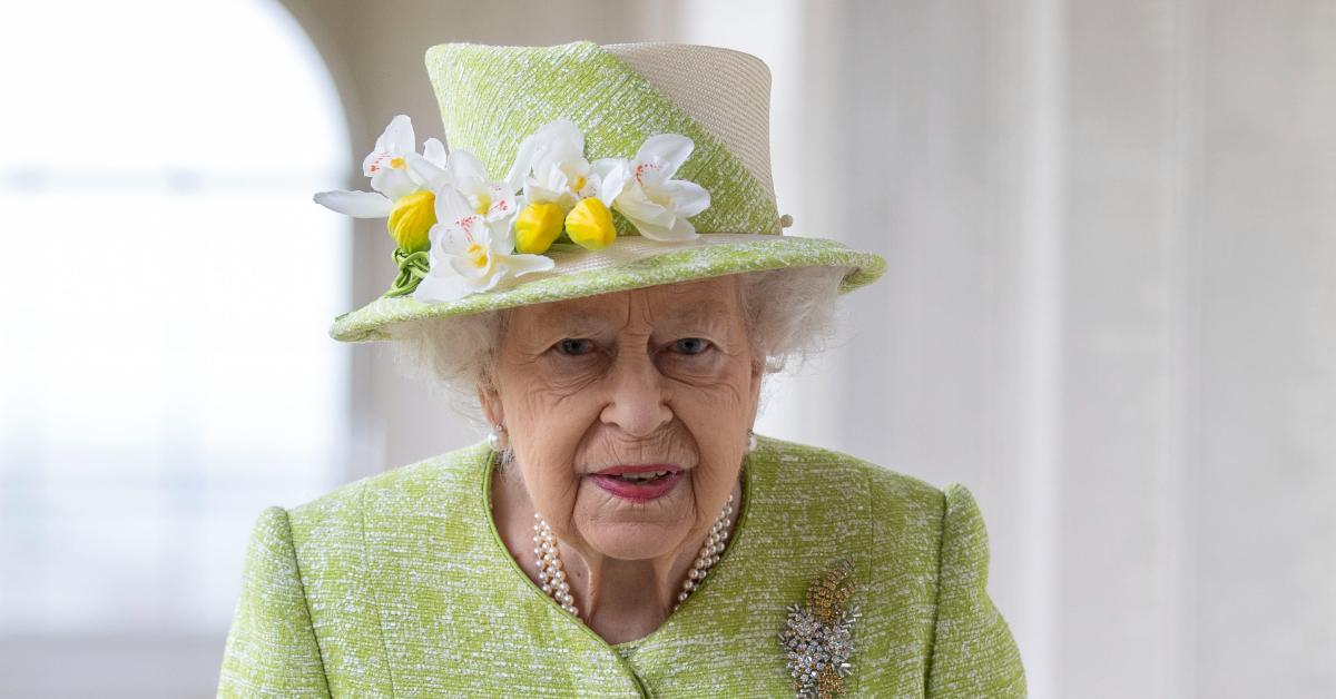 queen elizabeth mourning