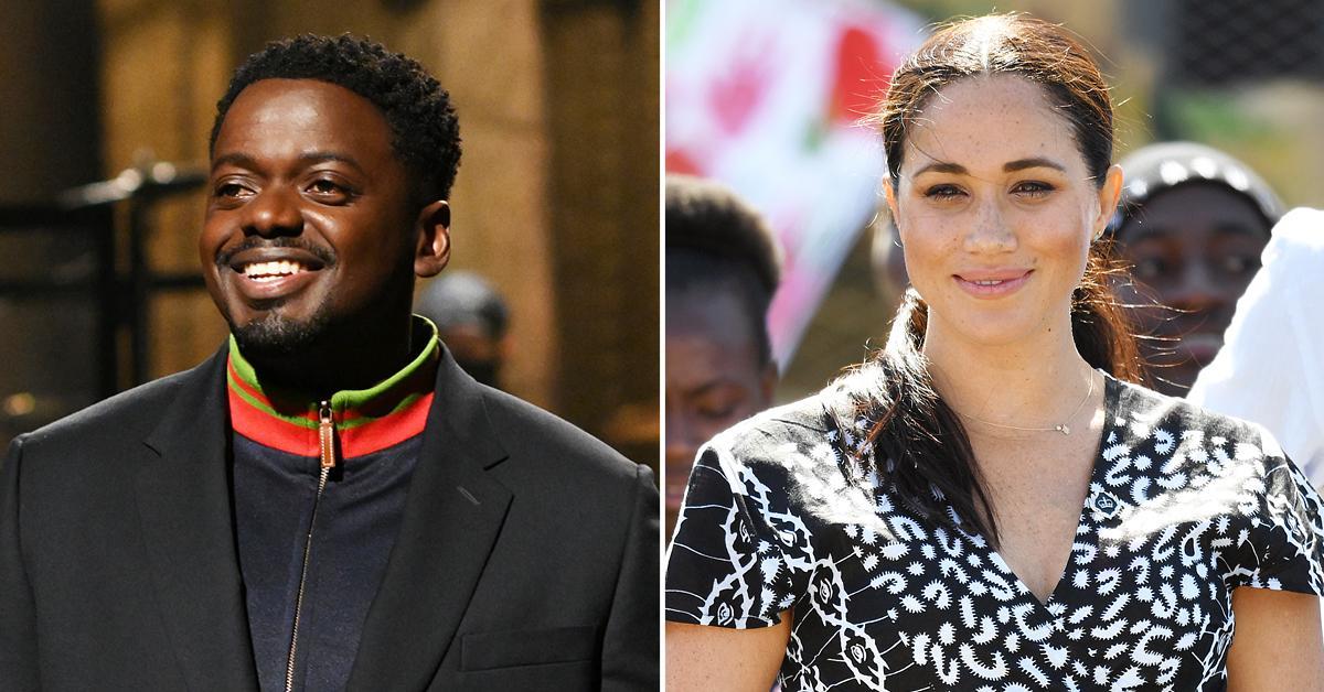 daniel kaluuya pokes fun royal family snl meghan markle racism claims tro