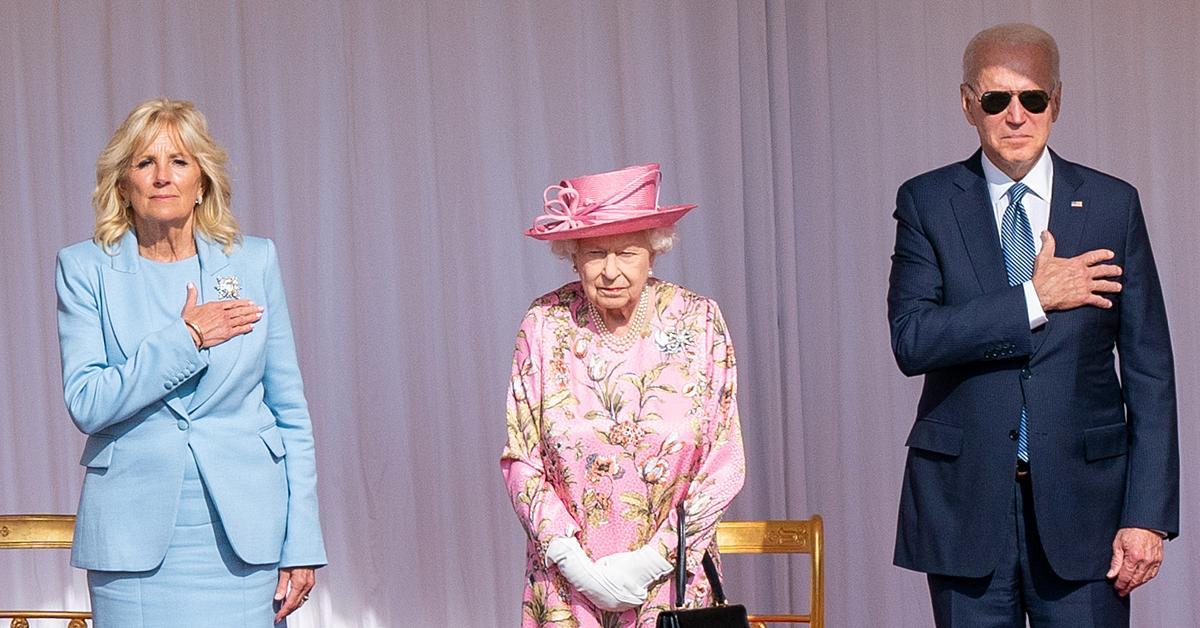 president joe biden shares queen elizabeth very gracious reminded me of my mother