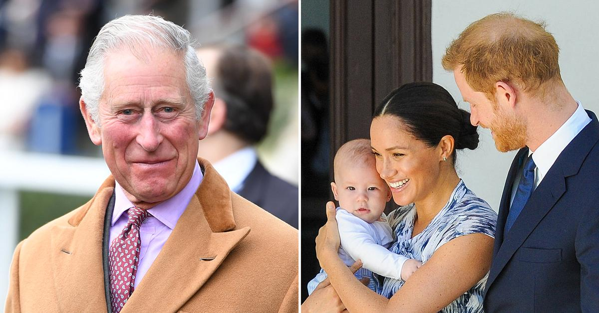 archie and lilibet will receive royal titles when grandfather prince charles takes the throne